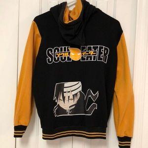 Soul Eater Evans Yellow Hoodie Jacket Sz Adult Sm